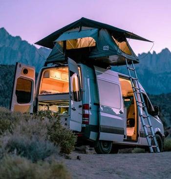 VanCraft Camper Van Rental Companies Trail and Kale