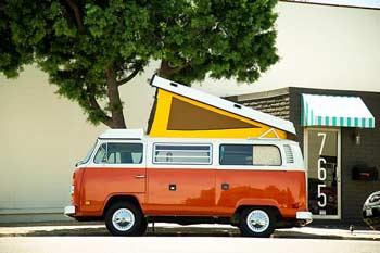Vintage Surfari Wagon Van Rentals Camper Van Rental Companies Trail and Kale