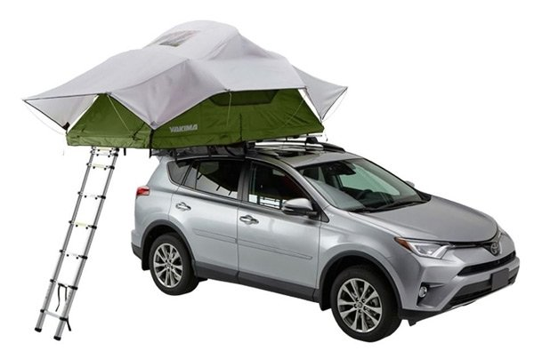 Yakima Skyrise Rooftop Tent 3 Person Best Roof Top Tents Trail and Kale