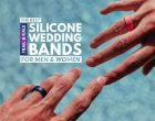 The Best Silicone Wedding Bands For Men & Women With Active Lifestyles
