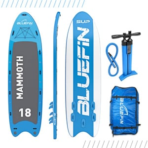 Bluefin SUP Mammoth Best SUP for groups Trail and Kale