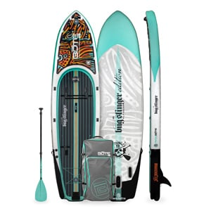 Bote Rackham Aero Best Fishing stand up paddleboard Trail and Kale