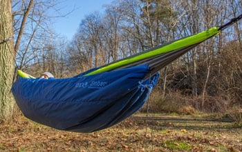 ENO Ember Underquilt Best Camping Hammocks Trail and Kale