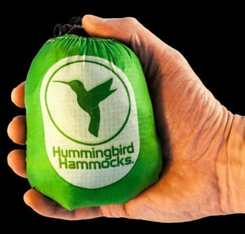 Hummingbird Hammock in hand Best Camping Hammocks Trail and Kale