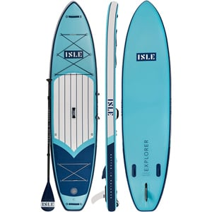 ISLE Explorer SUP Best paddle board for dogs Trail and Kale