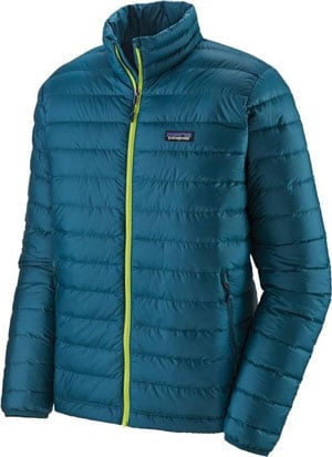 What To Bring on a Camping trip - Patagonia Down Jacket Camping Essentials Trail and Kale