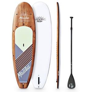 Pau Hana Malibu Classic best solid Best stand up paddleboard Trail and Kale