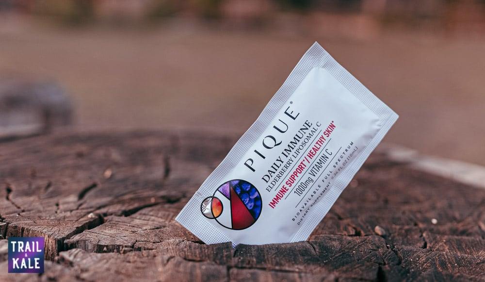 Pique Tea Review Daily Immune Supplement - Trail & Kale