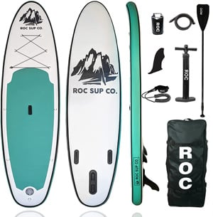 Roc Alliance HD Inflatable Stand Up Paddle Boards Best stand up paddleboard Trail and Kale