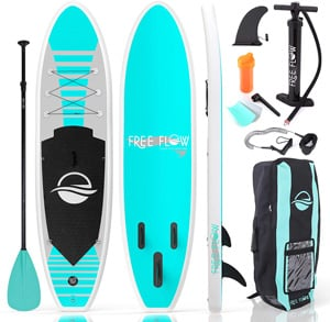SereneLife Inflatable Stand Up Paddle Boards Best stand up paddleboard Trail and Kale