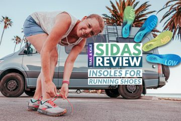 Sidas Review Running insoles Trail and Kale