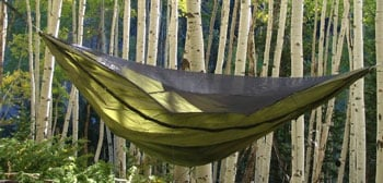 Warbonnet Outdoors Blackbird Original Hammock Trail and Kale