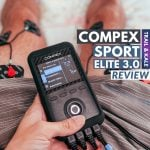 Compex Review Sport Elite 3 muscle stimulator and TENS machine Trail and Kale