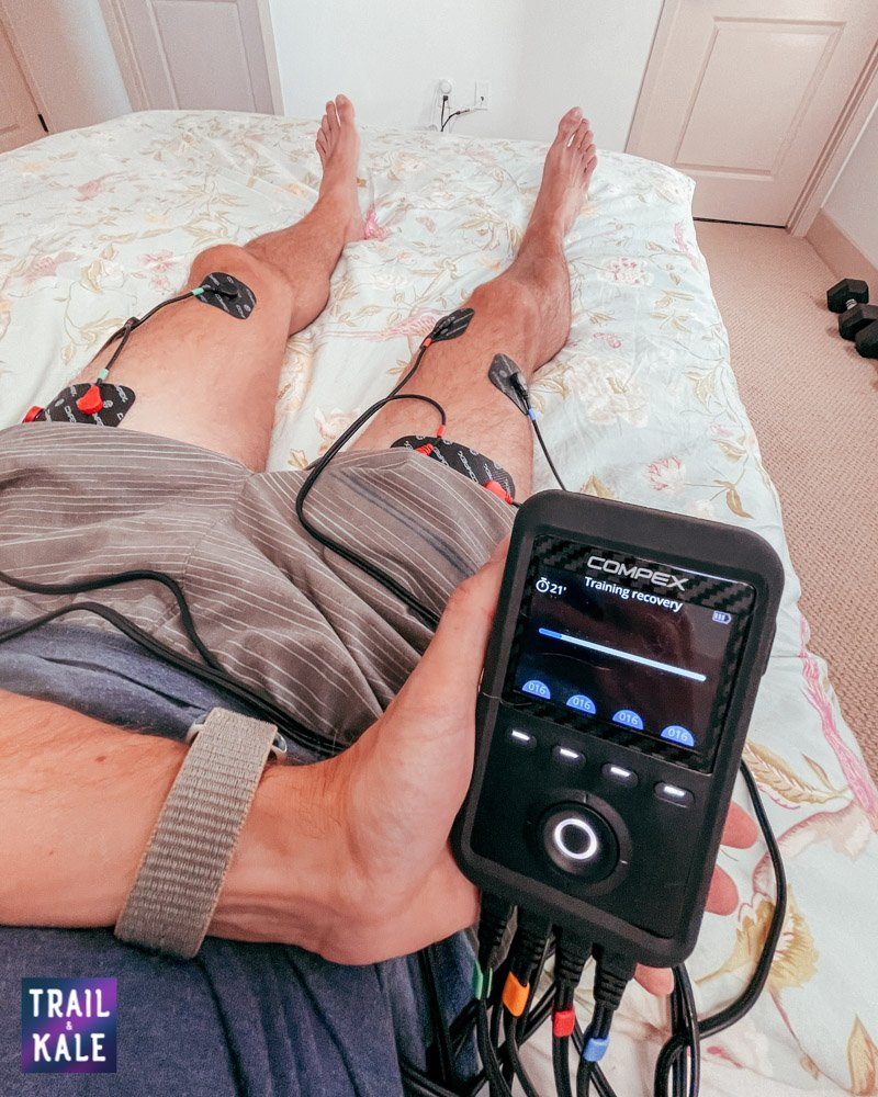 Compex Review Sport Elite 3 muscle stimulator and TENS machine Trail and Kale web wm 13