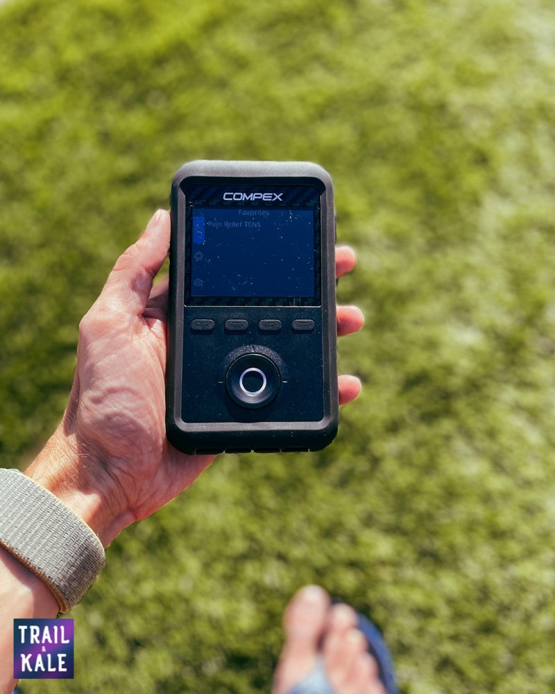 Compex Review Sport Elite 3 muscle stimulator and TENS machine Trail and Kale web wm 8