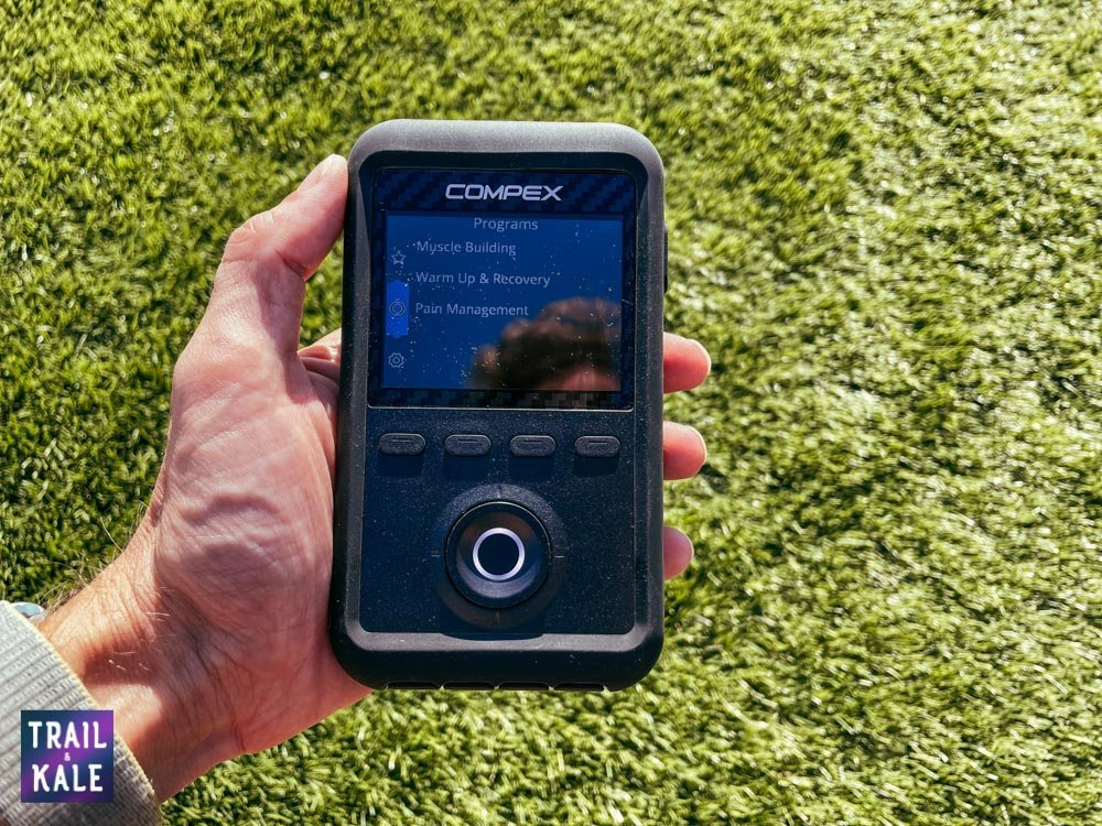 Compex Review Sport Elite 3 muscle stimulator and TENS machine Trail and Kale web wm 9