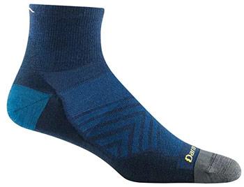 Darn Tough Mens Quarter Run Socks best running socks for men and women trail and kale