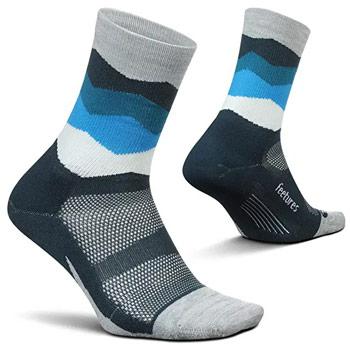 Feetures Crew Running Socks Best running socks trail and kale