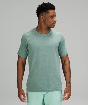 Lululemon Metal Vent Tech Short Sleeve Tee Fathers Day Gifts for Active Dads Trail and Kale