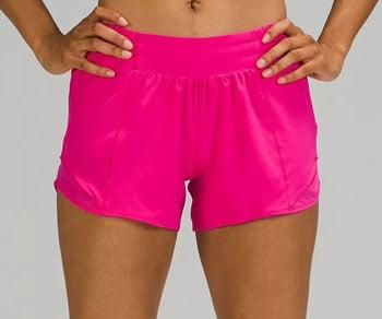 Lululemon hotty hot short 2 running shorts trail and kale