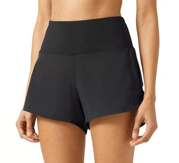 Lululemon speed up short long 4 inch running shorts trail and kale