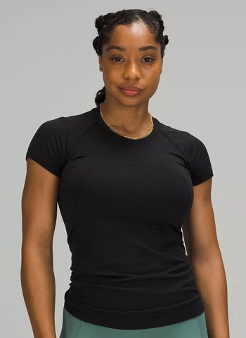 Lululemon swiftly tech short sleeve Lululemon shirts for running trail and kale