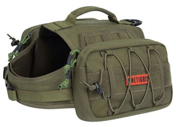 OneTigris Dog Backpack best dog backpack trail and kale 1