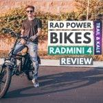 Rad Power Bikes RadMini 4 Review Trail and Kale