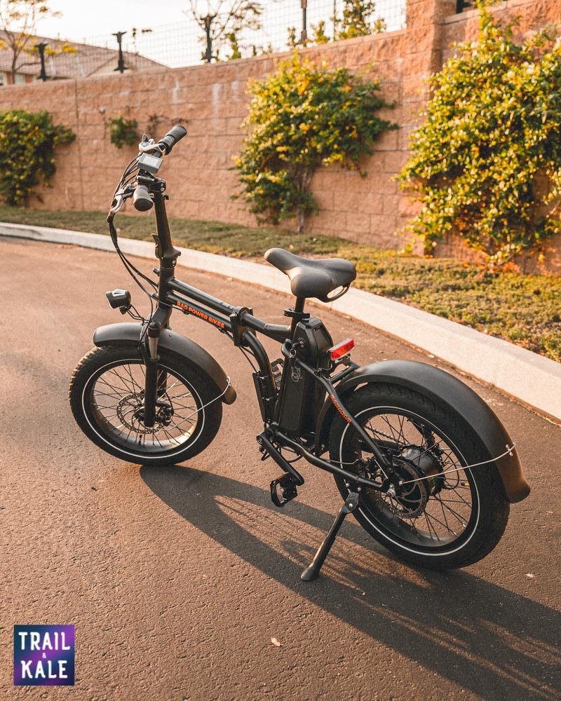 Rad Power Bikes RadMini 4 Review Trail and Kale web wm 10