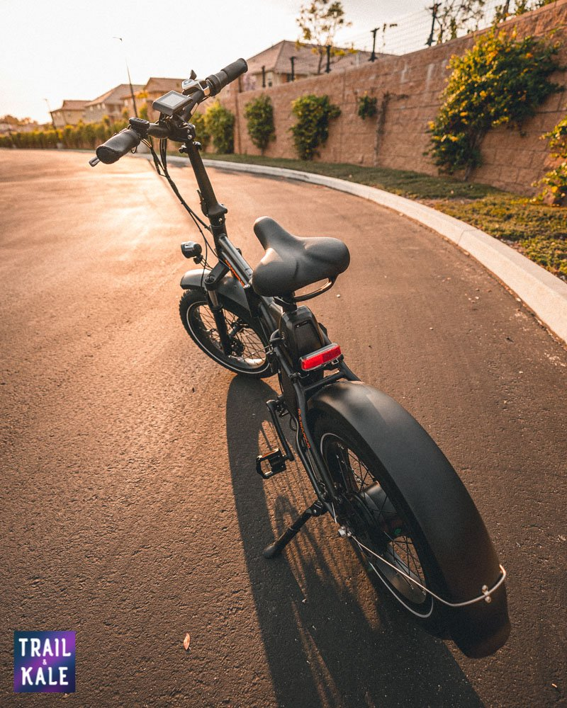 Rad Power Bikes RadMini 4 Review Trail and Kale web wm 15