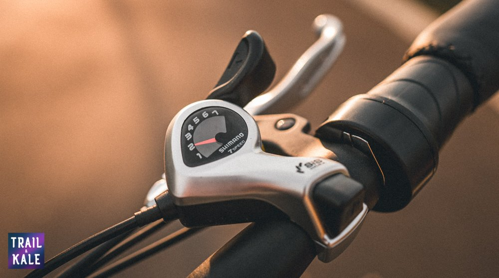 RadMini 4 Review - 7-speed gear levers - Trail and Kale