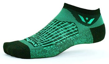 Swiftwick Aspire No Show Compression Running Socks Best running socks for men and women trail and kale