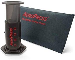AeroPress Coffee Espress Maker Camping Travel Coffee Maker cool camping gift ideas