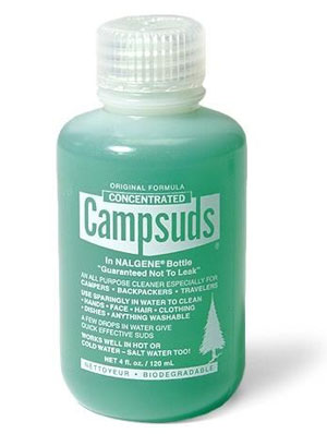 Campsuds Biodegradable Soap Camp Kitchen Essentials for Washing Up Trail and Kale