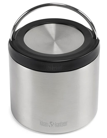 Klean Kanteen Insulated Food Container Outdoor camping kitchen buyers guide Trail and Kale