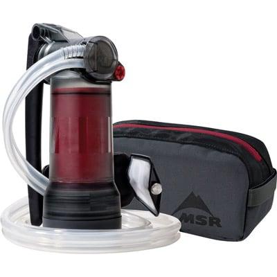 MSR Guardian Purifier Pump water purifier Trail Kale