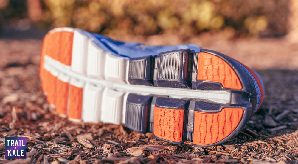 On Cloudflow Review | An updated traction pattern offers better grip than the previous version on slick wet surfaces