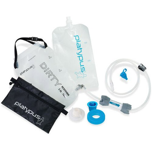 Platypus GravityWorks Water filter system for camping and backpacking Trail kale