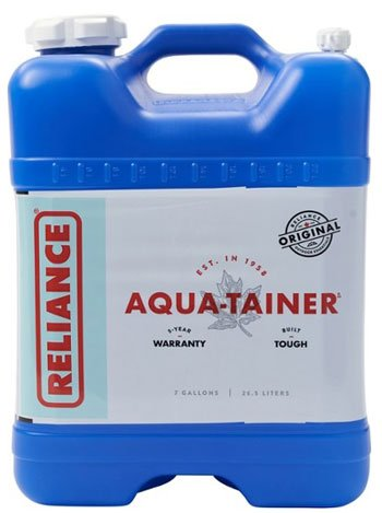 Reliance Aquatainer Water Jug Camp Kitchen Water Supply Trail and Kale