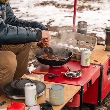 iKamper Aioks Camp Kitchen Box Best Camp Kitchen Box Trail and Kale