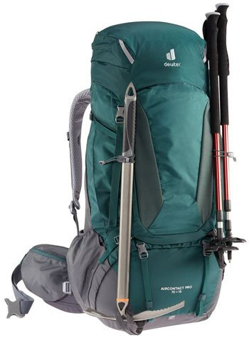 Deuter Aircontact Pro 70 Best Large Volume Backpack Trail and Kale