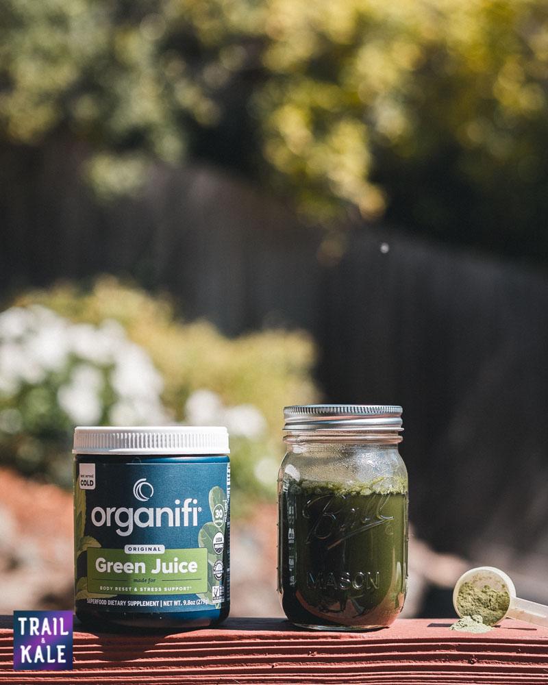 Organifi Green Juice Review Trail and Kale web wm 6