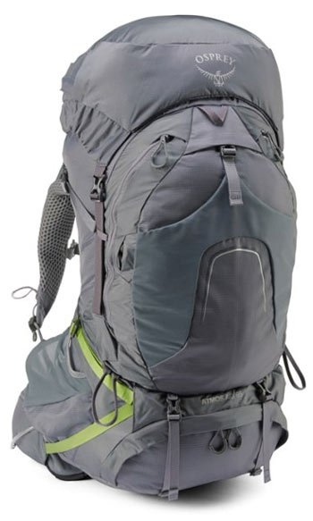 Osprey Atmos AG 65 Pack Best Backpacks for Thru Hiking Trail and Kale