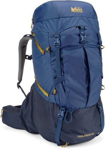 REI Co op Trailbreak 60 Pack Best Budget Backpacking Pack Trail and Kale