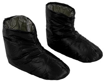 Enlightened Equipment Down Booties Socks Best Down Booties for Camping