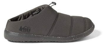 REI Co Op Camp Dreamer Slip Ons Best Down Booties for Camping